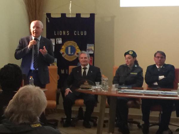 La sicurezza dell'Ambiente  –  Se n'è discusso a Rapolla per iniziativa del Lions Club di Melfi