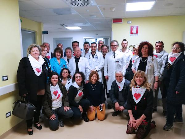 Al Crob 2 nuove poltrone per la chemioterapia donate dall'associazione Agata