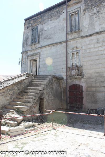 Lettera su Palazzo Ciasca a Rionero, dieci anni or sono