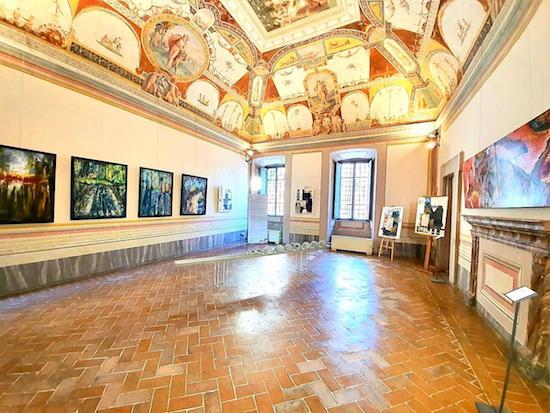 """Presente a Città della Pieve il pittore lucano Vittorio Vertone """"IDILLI CROMATICI. Omaggio a Leopardi a 200 anni dall'Infinito""""."""